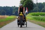 Andi beim Radeln